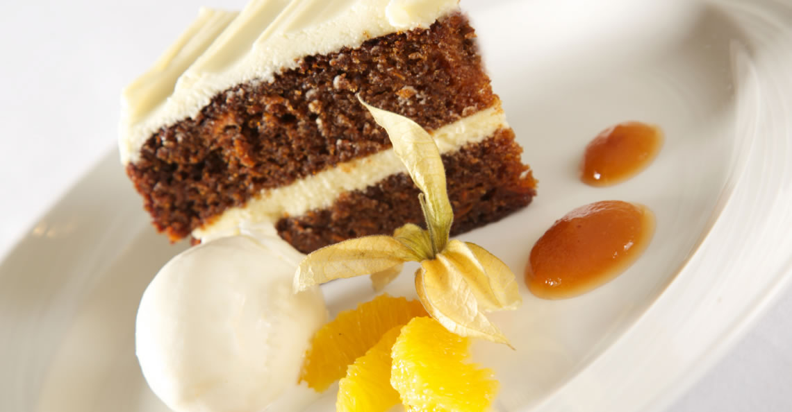 Just Desserts: Beatifully presented, enjoy our stunning selections of sweet treats