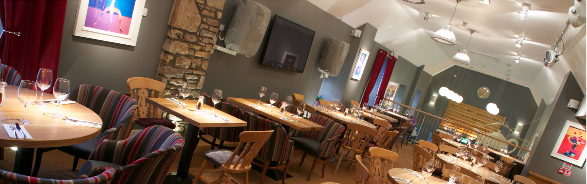 Wine and Dine: A warm welcome and relaxed friendly atmosphere awaits